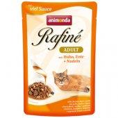 Rafine Adult с пиле, патица и паста в сос