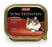 Vom Feinsten Senior за възрастни котки с телешко месо