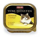 Vom Feinsten Senior за възрастни котки с птиче месо