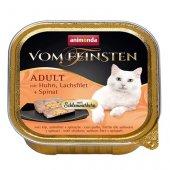 Von Feinsten Cat 2 в 1- пастет с хапки, пиле, сьомга и спанак