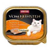 Von Feinsten Cat 2 в 1- пастет с хапки, пиле, говеждо и моркови