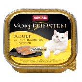 Von Feinsten Cat 2 в 1- пастет с хапки, пуйка, говеждо и моркови
