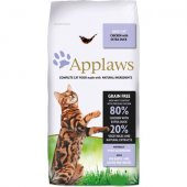 Applaws Cat Adult Chicken With Extra Duck - храна с пилешко и патешко месо, за котки над 12 месечна възраст