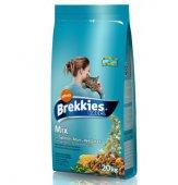 Brekkies Excel Cat Mix Fish - Храна за котки в зряла възраст (над 1 год.) с риба и зеленчуци