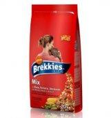 Brekkies Excel Cat Mix Beef  - Храна за котки в зряла възраст (над 1 год.) с  говеждо
