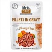 Brit Care Cat HEARTY DUCK in Gravy - пауч с патешко в сос