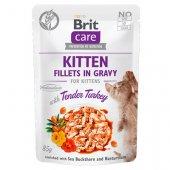 Brit Care Cat KITTEN Tender Turkey in Gravy - пауч за малки котенца с пуешко в сос