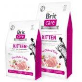 Brit Care Cat Grain-Free KITTEN - с пиле, пуешко и коластра за котенца и кърмещи котки