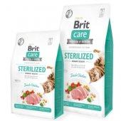 Brit Care Cat Grain-Free STERILIZED URINARY HEALTH - за кастрирани котки