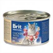 Brit Premium Cat Пастет с пиле и говеждо, консерва