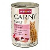 Carny Adult с пуйка, пиле и скариди - консерва за котки