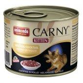Carny Kitten с птиче коктейл - храна за малки котенца