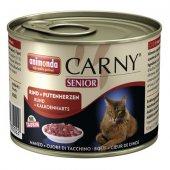 Carny Senior с телешко и сърца - консерва за котки