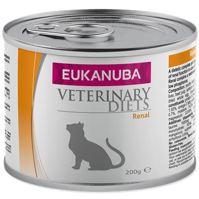 Eukanuba EVD Cat Renal, консерва - бъбречни проблеми