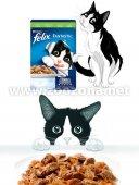 КОТКИ | Храна за котки | Purina Felix Фантастик Пауч Заек в желе