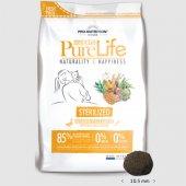 Flatazor Cat PureLife Sterilized - патица и сардини, без зърнени