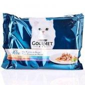 Gourmet Perle, мини филенца в сос - пуйка, патица, риба тон, агне - 4x85гр