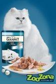 КОТКИ | Храна за котки | Gourmet Perle - Морски Дует с Океанска Риба и Риба Тон - пауч