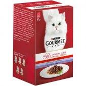 Gourmet Mon Petit, Асортимент МЕСО, 6 пауча
