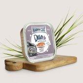 Happy Cat Duo - хапки с пастет с говеждо месо и дивеч, 100 гр