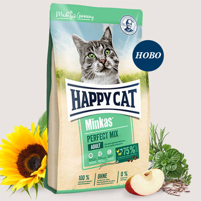 Happy Cat Minkas Perfect Mix - пиле, агне и риба