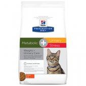 КОТКИ | Ветеринарни храни | Hills Cat Metabolic & Urinary Stress - наднормено тегло и струвитни камъни при котки