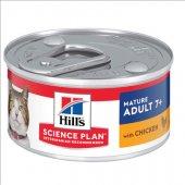 Hills Cat Mature Chicken - консерва с пилешко