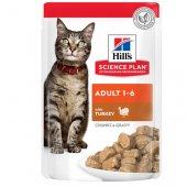 Hills Cat Adult TURKEY - 12 пауча с пуешко