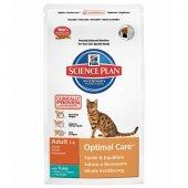 КОТКИ | Храна за котки | Hills SP Feline Adult Optimal Care Tuna - с риба тон