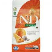 N&D Cat Adult Pumpkin - с херинга и портокал