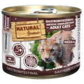 Natural Greatness Cat VET Gastrointestinal - балансирано храносмилане, 6 консерви по 200гр