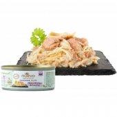 Nuevo Cat Handmade filets - Пилешко филе и риба тон в собствен сос, консерва