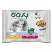 Oasy Cat Bocconcini Adult - Селекция месо, пауч 4x85гр
