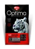 Visan Optima Cat Mature с пиле и ориз - храна за котки над 7 години
