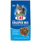Perfecto Cat Classic Knusper-Mix - с риба тон, сьомга, сардини и зеленчуци