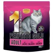 Perfecto Cat GOLD 1 Adult - със сьомга