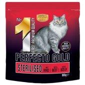 Perfecto Cat GOLD 1 Sterilised - с говеждо, за кастрирани котки