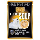 КОТКИ |  | Perfecto Cat Delicious Soup - пауч с пиле, 12x40гр