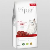 Piper Cat Beef - с прясно говеждо, без зърно, 3 кг