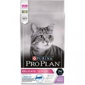 Pro Plan Cat Delicate SENIOR с пуйка - за котки над 7 години