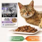 КОТКИ | Храна за котки | Pro Plan Junior, пауч, 85 гр - хапки в сос с Пуйка