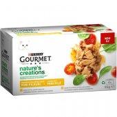 Gourmet Natures Creations, 4 консерви с пиле и пуйка