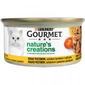 Gourmet Natures Creations, консерва с пиле, домат и спанак
