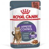 Royal Canin Cat Appetite Control Care, хапки в сос - 12 броя пауч по 85 гр
