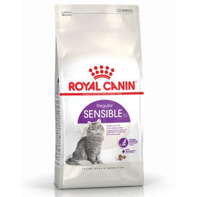 Royal Canin Sensible - Храна за котки с чувствителна храносмилателна система