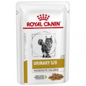 Royal Canin Cat Urinary SO Moderate Calorie - пауч за уринарния тракт с намалени калории