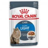 Royal Canin Ultra Light, контрол на теглото - 12 броя пауч по 85 гр
