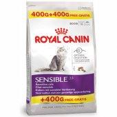 Royal Canin Sensible - 400 гр с 400 гр БЕЗПЛАТНО
