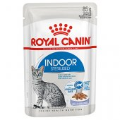 Royal Canin Indoor in Jelly хапки в желе - 12 броя пауч по 85 гр