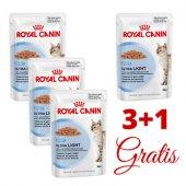 КОТКИ | Храна за котки | Royal Canin Light - 4 пауча x 85 гр